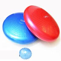 瑜伽平衡垫瑜伽球平衡练习盘脚�B康复训练气垫加厚儿童健身球p9e