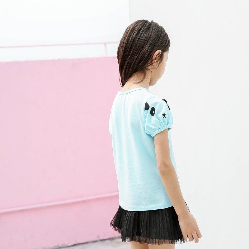 【AMII大牌日折上2件4折】AMII童装夏装2017新款儿童短袖T恤中大童棉体恤衫上衣女童t恤21742230折上2件4折,仅9.22一天