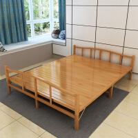 折叠床竹床单人床1.2米双人床 午休简易午睡实木板家用1.2米1.5硬板竹床