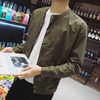男士夹克外套2016新款春秋季修身韩版青年 连帽薄款男装外衣潮