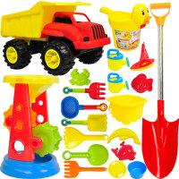 宝宝玩沙挖沙漏大号铲子儿童沙滩玩具车套装桶戏水洗澡决明子工具