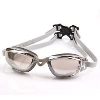 大框防水防雾舒适电镀透明游泳眼镜新款舒适男女通用游泳镜