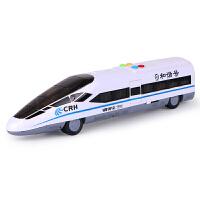 高铁火车模型儿童2-3-6岁生日礼物动车宝宝玩具惯性车男孩