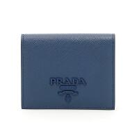 【网易考拉】PRADA 普拉达 女士经典折叠钱包