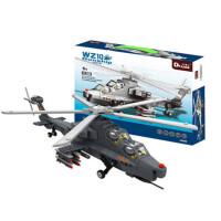 歼15飞机模型歼20战斗机武直10兼容乐高军事拼插积木拼装玩具