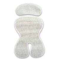 德国夏季儿童安全座椅配套凉席婴儿宝宝座垫通用透气凉席 冰丝竹炭席