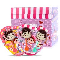 日本进口零食不二家双棒巧克力24支儿童礼物送女友棒棒糖果礼盒