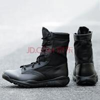 轻量化战术靴登山运动鞋男高帮特种兵作战靴特勤特战军靴工作轻便透气耐磨