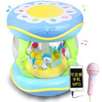 0-1岁3-6-12个月婴儿玩具益智早教 宝宝手拍鼓 儿童音乐拍拍鼓