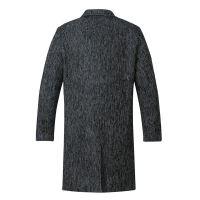 【限时秒杀价:223元】AMAPO潮牌大码男装 胖哥加肥加大码风衣外套加厚保暖秋装呢大衣男