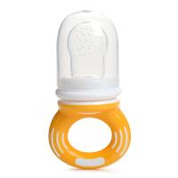 日康吮食器 婴儿水果蔬菜乐 食物咬咬训练器 辅食礼盒装咬咬袋RK3342