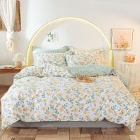 伊迪梦家纺 全棉单品被套被罩单件 纯棉斜纹高支高密面料 家纺床上用品单双人床大小规格DY305
