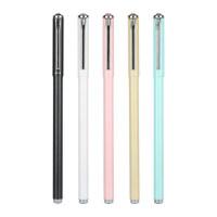 晨光文具AGPA6903金属中性笔黑签字笔学生水笔学习用品0.5mm