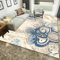 客厅地毯简约现代沙发茶几垫家用拼接床边毯北欧风地毯卧室可定制 浅灰色 图64