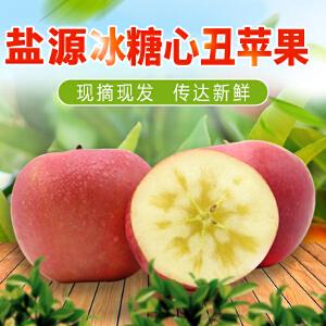【高坪馆】大凉山盐源糖心苹果丑苹果9斤 四川特产红富士新鲜水果野生丑苹果