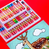 雄狮油画棒36色48色宝宝蜡笔儿童安全幼儿画笔彩笔六角腊笔套装色粉笔24色幼儿园油画笔彩绘可水洗重彩油化棒