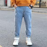 男童牛仔裤儿童春装2020新款春季裤子男孩长裤