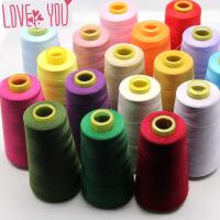 缝纫线家用宝塔线高强度402涤纶3000码缝纫机线DIY大卷手缝线 p2p
