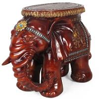 号大象换鞋凳子/地中海欧式家居装饰品摆件结婚礼物摆件