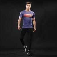 运动紧身衣男篮球跑步训练紧身裤弹力健身套装速干透气背心T恤