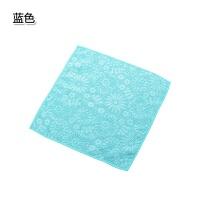 素色洗碗巾厨房不沾油洗碗布吸水毛巾擦手巾擦桌布细纤维清洁抹布