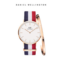 DanielWellington丹尼尔惠灵顿 dw手表男 40mm织纹带男表手镯套装