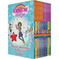 【首页抢券300-100】Rainbow Magic Collection 彩虹魔法仙子系列 14册盒装 英语桥梁书 5