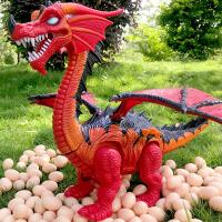 大号恐龙玩具电动超大会走路下蛋的霸王龙仿真动物儿童男孩模型大