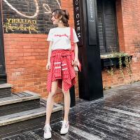 裙子夏女2018新款学院风衣服套装裙夏季连衣裙