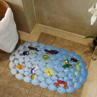 浴室防滑地垫卫生间厕所洗手间淋浴卫浴门口洗澡PVC防水垫子脚垫