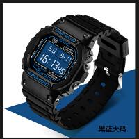 精准时尚手表男多功能数字式电子表男女学生户外运动防水夜光SN0782
