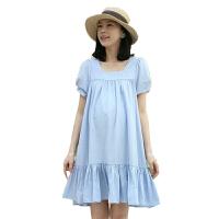慈颜CIYAN 夏季孕妇装连衣裙 孕妇裙韩版孕妇装 大码棉孕妇裙FF1014