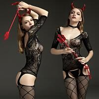 女开档露乳激情套装连体丝袜透明网袜真人极度诱惑SM骚 均码