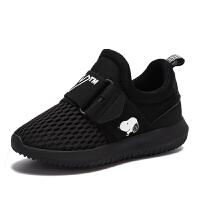 史努比童鞋男童运动鞋春夏新休闲鞋子男童透气跑步鞋