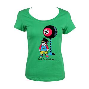 99元三件 VOIT沃特夏季情侣款女子运动休闲圆领T恤紧身轻便透气舒适