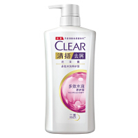 【领券立减50】清扬(CLEAR)去屑洗发露 多效水润养护型650g