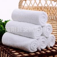 加厚全棉酒店毛巾100条装宾馆饭店洗浴一次性白毛巾纯棉吸水抹布 0x0cm