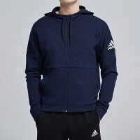 adidas阿迪达斯男服夹克外套2019新款连帽休闲运动服DU1136