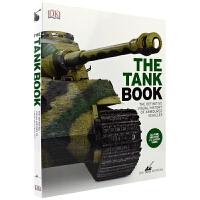 【首页抢券300-100】DK The Tank Book 精美全彩坦克科普图鉴 DK坦克博物馆坦克宝典 儿童英文原版进
