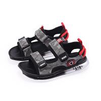男童�鲂�夏季中大童男童鞋�底防滑����鞋子�和�沙�┬�