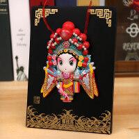 京剧脸谱摆件中国风出国小礼物北京西安纪念品中国特色礼品送老外七夕 抖音