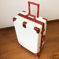 行李箱ins网红复古拉杆箱万向轮24旅行箱20登机箱男女韩版密码箱