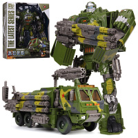 汽车机器人恐龙钢索模型玩具男孩