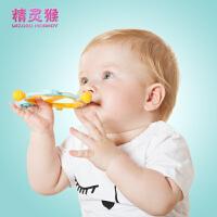 磨牙棒咬咬胶器0-3-6-12个月1岁玩具牙胶摇铃宝宝