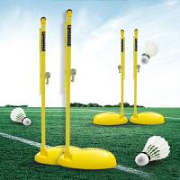 标准排球柱比赛 排球架 羽毛球网架气排球网架二合一羽毛球架标准网架移动式户外室内通用HW