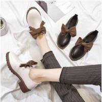 小皮鞋女英伦风复古抖音同款软妹女鞋韩版时尚百搭学生单鞋子