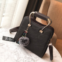 女士包包2019韩版新款女包手提包简约时尚单肩包斜挎小包包百搭潮