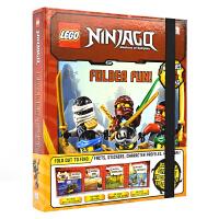 DK Lego Ninjago Master of Spinjitzu 乐高忍者旋风术大师四合一套盒 儿童英语贴纸故事