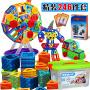 【满2件5折】活石 儿童磁力片积木玩具益智玩具百变提拉磁铁积木玩具