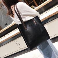 大包包2019皮包新款女包欧美复古简约公文包时尚手提包单肩包潮包